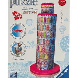 Пазлы - 3D пазл Тула Мун, Пизанская башня, 216 деталей., 0