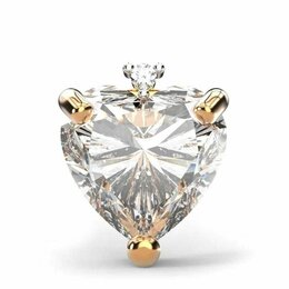 Украшения для девочек - Детские золотые серьги с бриллиантами, 0