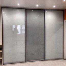 Шкафы, стенки, гарнитуры - Двери-купе. Цветное стекло, 0