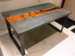 Столы и столики - Стол-река Мичи из полимербетона, 0