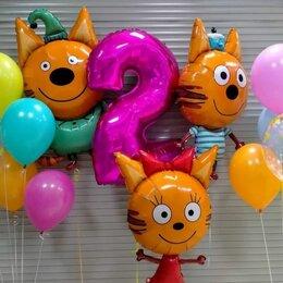 Воздушные шары - Набор Три кота, 0