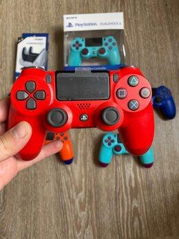Рули, джойстики, геймпады - Геймпад джойстик для PlayStation 4 красный, 0