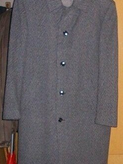 Пальто - Пальто cерое (шерсть)  52, 0