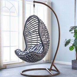 Плетеная мебель - Подвесное кресло AFM-810G Grey, 0