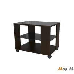 Столы и столики - Стол журнальный BeautyStyle 5 в цвете Венге-Черное стекло, 0