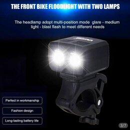 Фонари - Водонепроницаемая USB Фара на руль велосипеда, 0