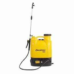 Электрические и бензиновые опрыскиватели - Опрыскиватель CHAMPION SA 16 аккумуляторный, 0