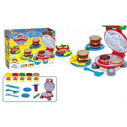 Коляски - Масса для лепки Гамбургеры 6620, 0