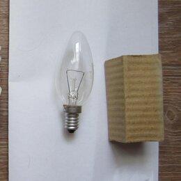 Лампочки - Лампа накаливания 1 шт, цоколь E14, новая, 0