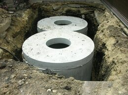 Септики - Кольца бетонные для канализации, крышки, днища…, 0