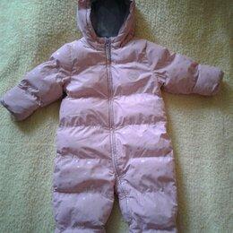 Теплые комбинезоны - Детский зимний комбинезон на девочку , 0