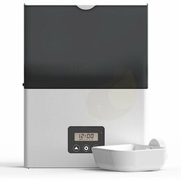 Туалеты и аксессуары  - Автокормушка в клетку 2,3 л для сухого корма,…, 0