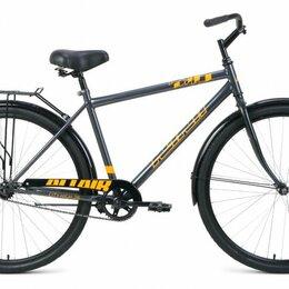 """Велосипеды - Городской велосипед ALTAIR City high 28 серый/оранжевый 19"""" рама, 0"""