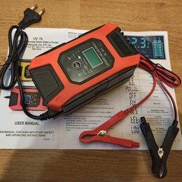 Аккумуляторы и комплектующие - Зарядное устройство для автомобильного или мото аккумулятора, 0