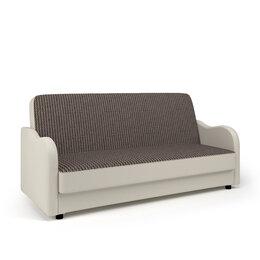 Диваны и кушетки - Диван-кровать «Классика В» Корфу коричневый и…, 0