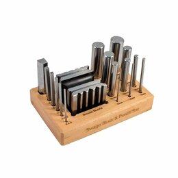 Весы ювелирные - Дизайн-куб с пунзелями 17 размеров, 4758, 0