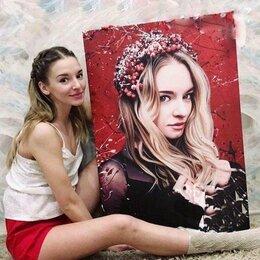 Картины, постеры, гобелены, панно - Портрет в стиле дрим арт (Dream art), 0