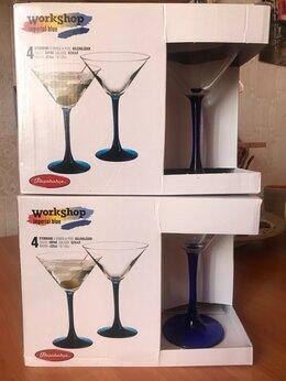 Бокалы и стаканы - 3 набора бокалов , 0