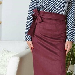 Юбки - Замшевые юбки, 0