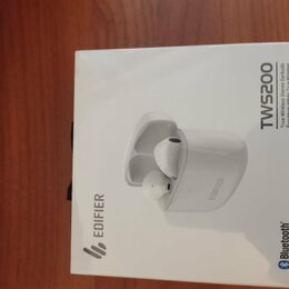 Наушники и Bluetooth-гарнитуры - Новые беспроводные наушники Edifier tws 200, 0