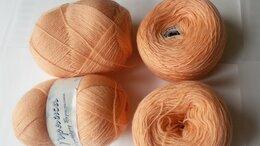 Рукоделие, поделки и товары для них - Пряжа Кроссбред Бразилии Пехорка цвет Манго 400 гр, 0