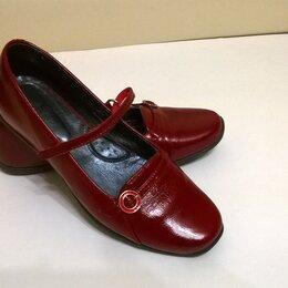 Балетки, туфли - Красные туфли Bartek Б/У, 0