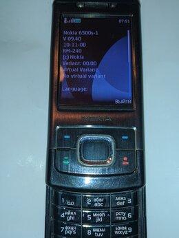 Мобильные телефоны - Nokia 6500s , 0