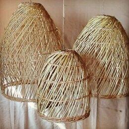 Люстры и потолочные светильники - Люстры плетеные для веранды и террасы потолочные фото в интерьере, 0