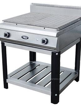 Промышленные плиты - Плита газовая Grill Master Ф4ЖТЛСПГ на подставке, 0
