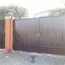 Заборы, ворота и элементы - Ворота, 0