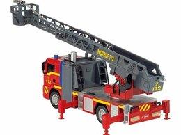 Машинки и техника - Пожарная машина Dickie с водой мигалкой и сиреной, 0