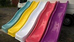 Игровые домики и палатки - Скат горка спуск из стеклопластика 2,3 метра, 0