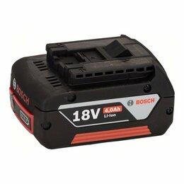 Аккумуляторы и зарядные устройства - Аккумулятор bosch 18в GBA 4ач, 0