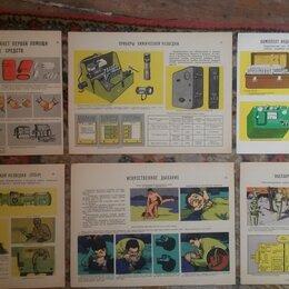 Постеры и календари - Плакаты гражданской обороны СССР (1975 г), 0