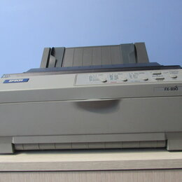 Матричные принтеры - Матричный принтер Epson FX-890 model P361A, 0
