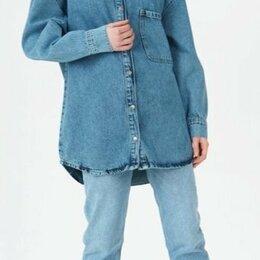 Блузки и кофточки - Джинсовая рубашка Aiza Outfit новая, 0