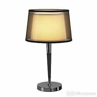 Лампа настольная с абажуром 56х33 см черная Bishade 155651 по цене 18600₽ - Настольные лампы и светильники, фото 0