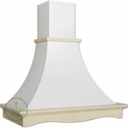 Вытяжки - Кухонная вытяжка Elikor Рококо 60П-700-П3Д белый…, 0
