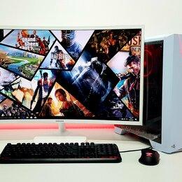 Настольные компьютеры - Игровой i3-9100F + 1050Ti 4Gb + DDR4 8Gb + Монитор, 0