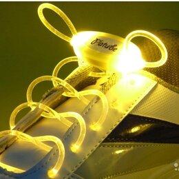 Одежда и обувь - Шнурки светящиеся - желтые, 0