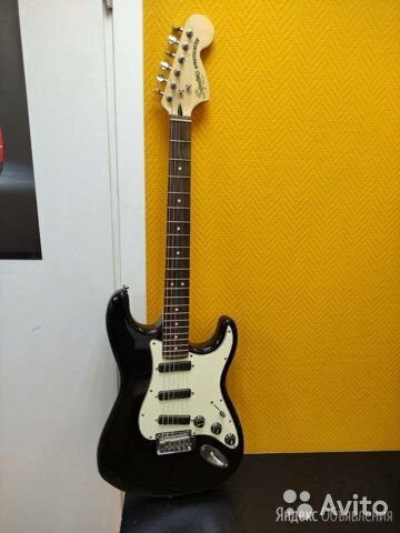 Электрогитара fender squier deluxe strat HOT rails по цене 20000₽ - Электрогитары и бас-гитары, фото 0