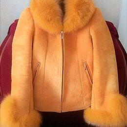 Куртки - Куртка- дубленка, р. 42-44, 0