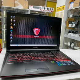 Ноутбуки - Быстрый игровой ноутбук MSI Core i5/ GTX 1050 2Gb, 0