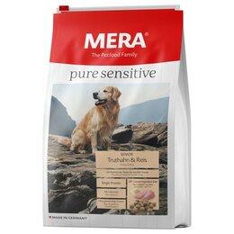 Корма  - Сухой корм Mera Pure Sensitive Senior Dog Truthahn Reis 12,5 кг, 0