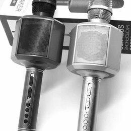 Микрофоны и усилители голоса - Караоке микрофон YS-89 Magic Bass Новинка (Черный), 0