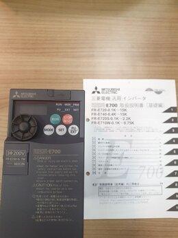 Стабилизаторы напряжения - Преобразователь частоты Mitsubishi FR-E720-0.75K, 0