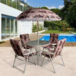 Комплекты садовой мебели - Набор складной мебели ВЕРСАЛЬ 6-предметов DS-109, 0