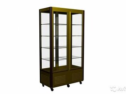 Холодильные витрины - Витрина кондитерская Carboma R800C Люкс (Полюс), 0