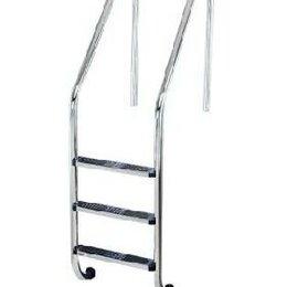 Лестницы и поручни - Лестница Flexinox SPECIAL OVERFLOW AISI-304 4 ступени, 0