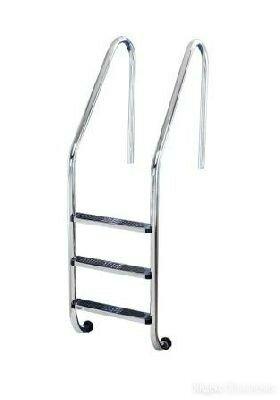Лестница Flexinox SPECIAL OVERFLOW AISI-304 4 ступени по цене 28758₽ - Лестницы и стремянки, фото 0